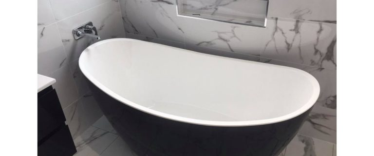 Bathroom Renovation Cranebrook - Allworks Plumbing Bath Tub v3