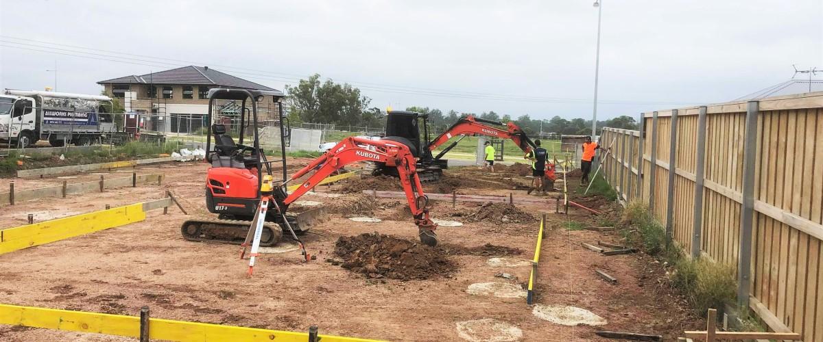 Excavations, Drainage Gledswood Hills